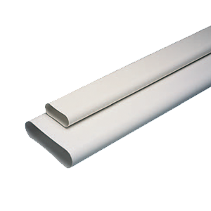 Conduit rigide plastique oblong minigaine Aldes