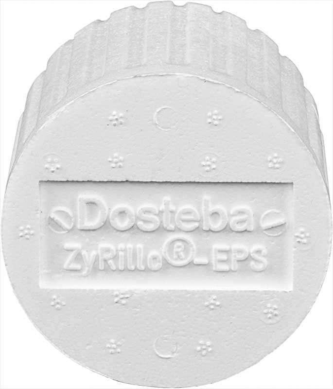 ZyRilloEPS DOSTEBA 10 cylindres fixat. sur ITE ⌀125 +fraise+ 1 ST-Polyme 6000466