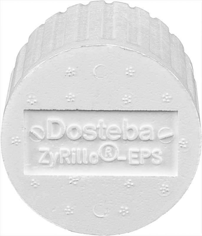 ZyRilloEPS DOSTEBA 50 cylindres fixat. sur ITE ⌀125 +fraise+ 4 ST-Polyme 6000467
