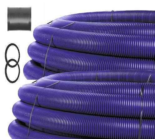 2x25m Collecteur géotherm. ⌀200 + manchon de liaison Helios