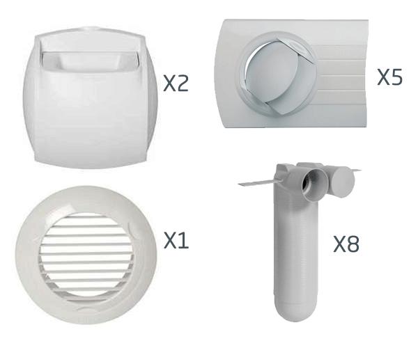 kit auto optiflex aldes bouche 11091966