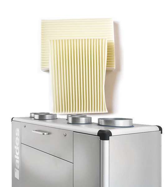 1 filtre F7 et 2 filtres G4 pour centrales C3000 et C3000_H2O
