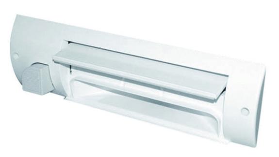 Prise plinthe ramasse-miettes blanche GB2000 31020080