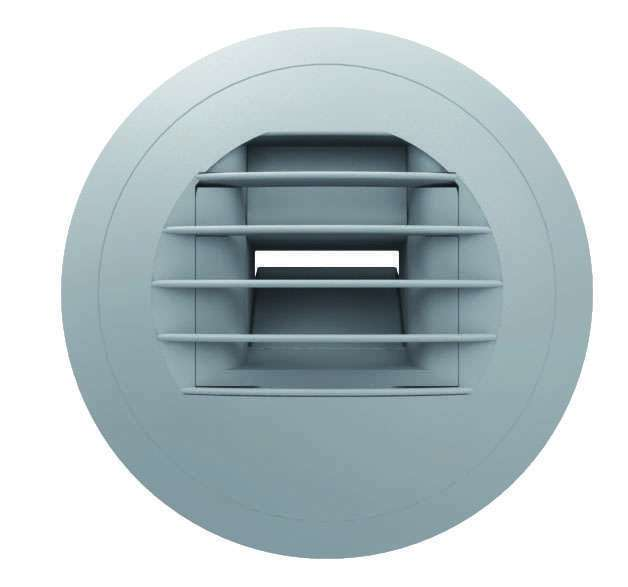 Bouche d'extraction hygroréglable WC