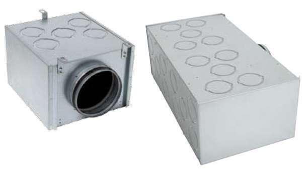 Caisson de répartition métallique