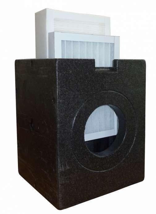 Caisson filtrant ISOBOX DN 160 + Filtre à pollen