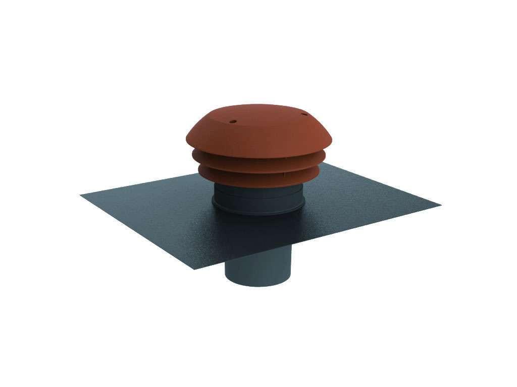 Chapeau toiture plast rejet ou prise air