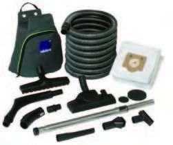 Accessoires aspirat. central.