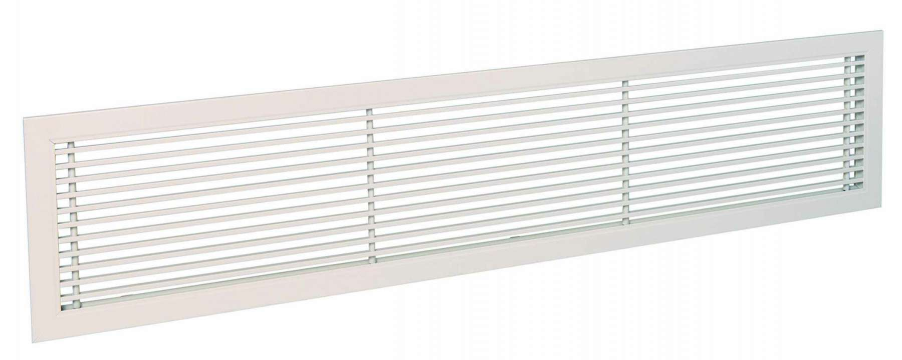 Grilles intérieures GRIDLINED WALL F3 500X100 RAL9010 Aldes 11050565