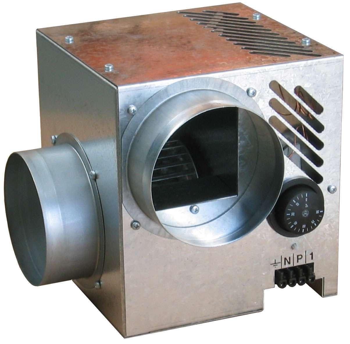 Difuzair Nather récupérateur de chaleur pour cheminée