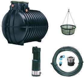 Kit récupération eau de pluie