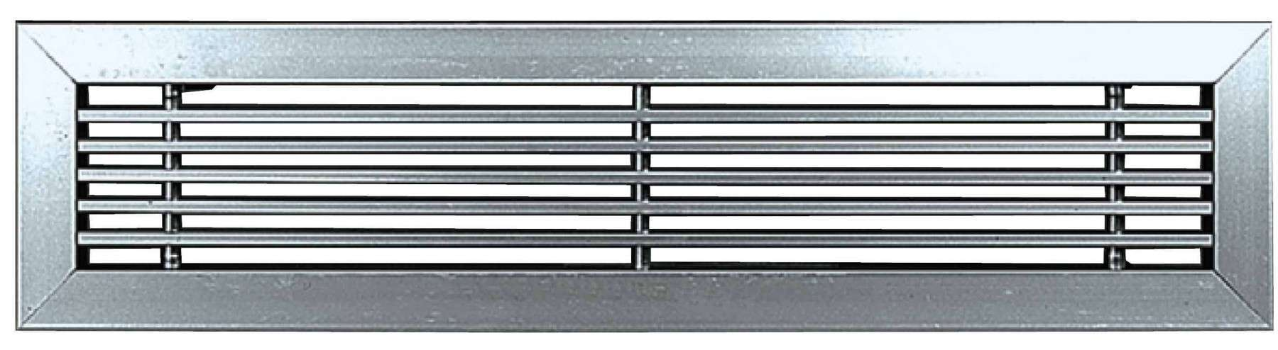 GLF 800X100 BLANC UNELVENT GRILLE A MAILLES FIXES 850219