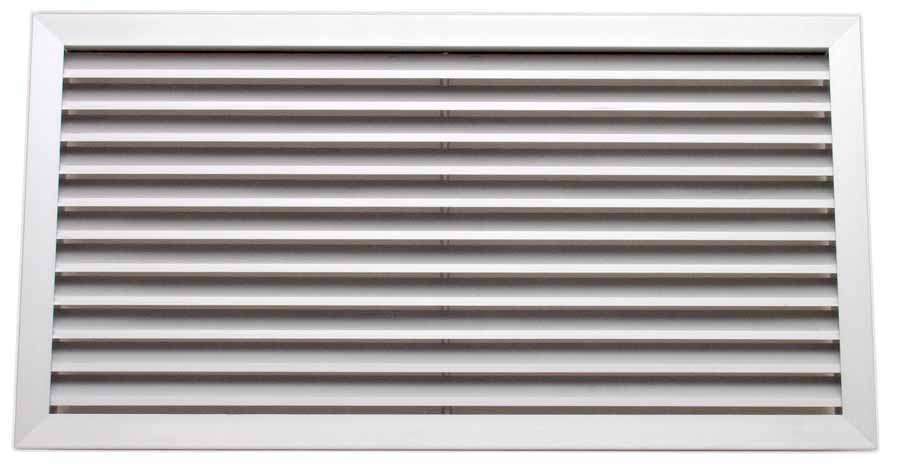GAF-B 400/200 UNELVENT GRILLE DOUBLE DEFLECTION 852025