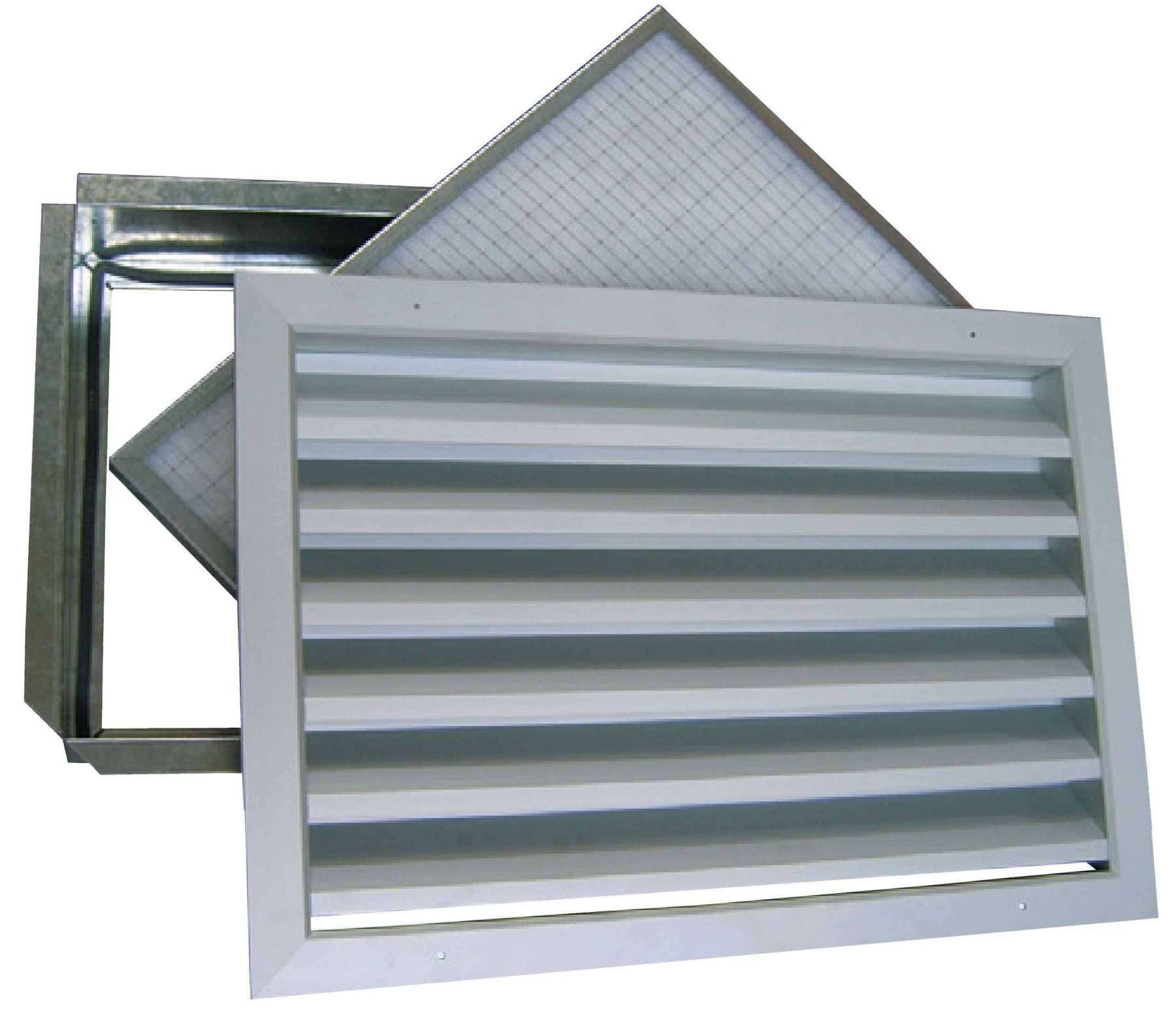 GRE/FP 600X600/50 UNELVENT GRILLE SIMPLE DEFLECTION 875485