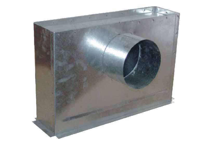 PGL 600X200 UNELVENT PLENUM A PIQUAGE LATERAL ISOLE 878401