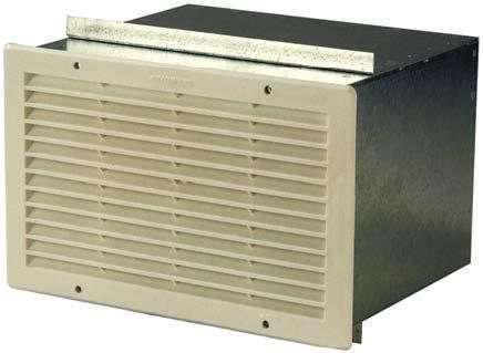 Prise d'air grille + plénum PRISE AIR 150 MURALE
