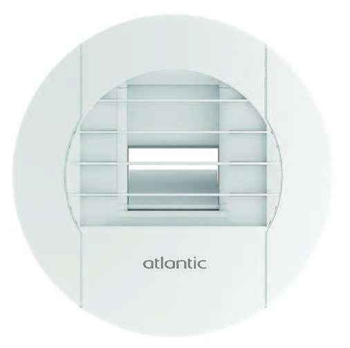 Bouche hygroréglable SDB (sans WC) /  Salle d'eau D80 Atlantic