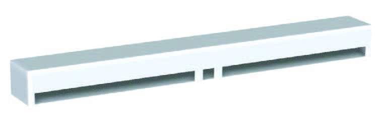 Capuchon de façade acoustique CAFAC Atlantic 422800