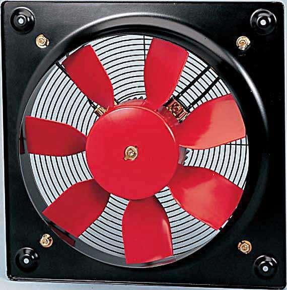 HCFT/4-450/H 230/400V Unelvent Ventilateur Hélicoïde Industriel Mural 18644