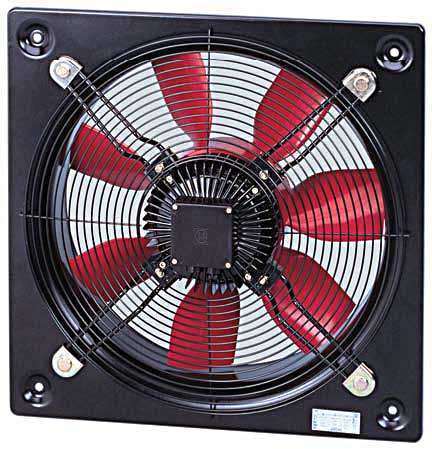 HCBT/4-500/H 230/400V Unelvent Ventilateur Hélicoïde Industriel Mural 24139