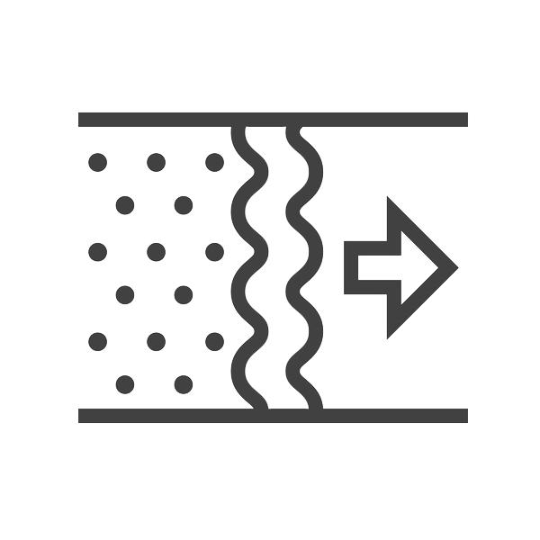 EOS FK VENTILAIR GROUPE BELGIUM BVBA Kit de filtre pour EOS G4 (diltre pulsion et d'textraction) 1009000068