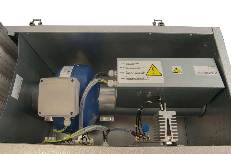 VPE EXPERT SOUFL'AIR 125 Econoprime Intérieur de la machine