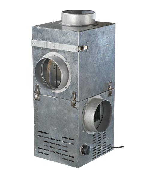 kam 160 récupérateur de chaleur cheminée econoprime avec kfk