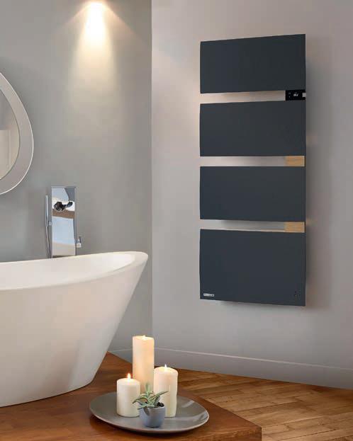 Symphonik thermor radiateur sèche-serviette gris
