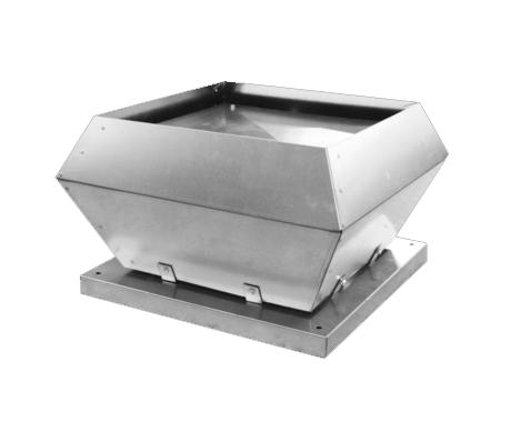 Tourelle centrifuge à rejet vertical  Débit 1550m3/h - Diam 185 mm ECONOPRIME DVTTV315