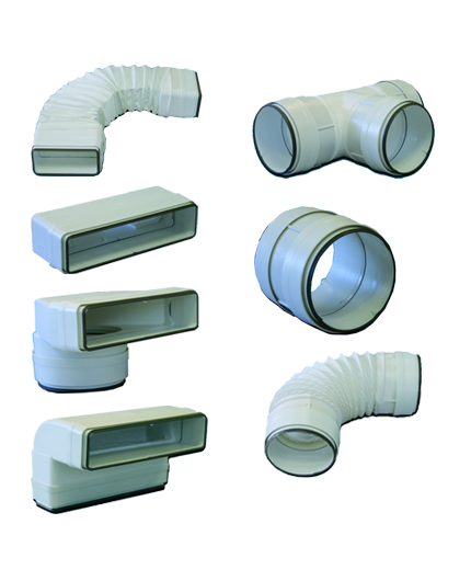 tub-pla unelvent conduits joints 55x110