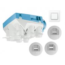 Kit OZEO ECOWATT 2 avec bouton poussoir pour bouche cuisine