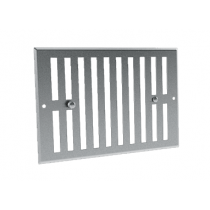 Grille de ventilation obturable aluminium GO AL