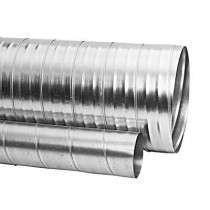 Conduit rigide Galva D125 long. 3m ECONONAME CRGALD125L3
