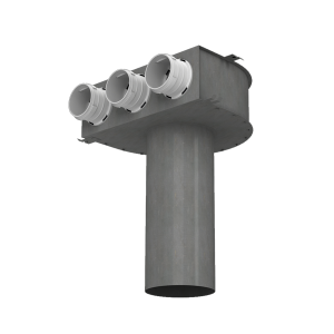 plenum metal coude econoprime 3x75