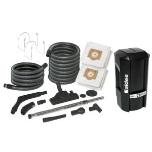 Pack Aspiration centralisée C.Power Aldes + 1 Sac 30 litres Aspiration centralisée + filtres + 1 Support tuyau flexible Aspiration centralisée + 2