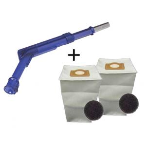 Pack 2 sacs aspirateur + Poignée de commande pneumatique Aspiration centralisée ALDES ALDES ancienne génération 11070084+11070062