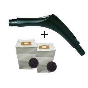 Pack 2 sacs aspirateur + Poignée de commande pour C.Booster / C.Cleaner ALDES C BOOSTER C CLEANER 11070084+11071099