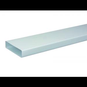 Conduit rigide plastique rectangulaire 55*220