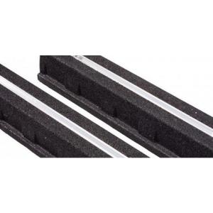 Supports sol caoutchouc noir atlantic 809531