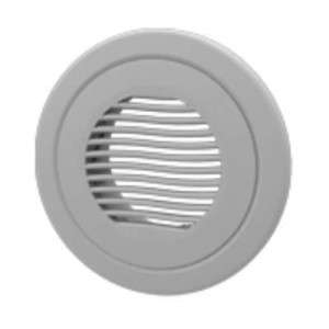 Bouche extraction et insufflation plastique ronde ajustable