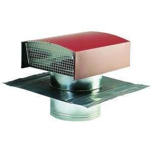 Chapeau de toiture métallique tuile ⌀160  ECONONAME CTM⌀160T