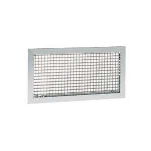 Grille de reprise. Montage mural ou plafond. Couleur Aluminium anodisé GRK 800X300 Atlantic 528314