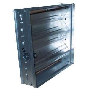 VDR 200X200 UNELVENT PLENUM A PIQUAGE ARRIERE ISOLE 870026