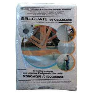 Ouate cellulose - Sac 12,5 kg