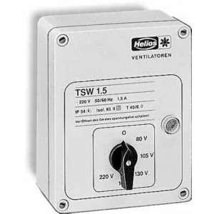 Régulateur à transformateur pour ventilateurs 1,5 A