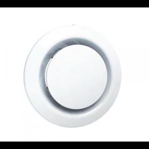 beip Bouche extraction et insufflation plastique ronde réglable