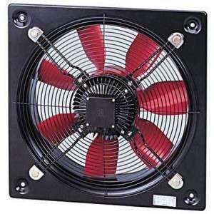 HCFT/4-630/H 230/400V Unelvent Ventilateur Hélicoïde Industriel Mural 16946