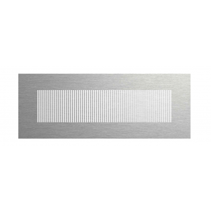 78300663 Profi-air design LINE stainless steel 350x130 mm FRAENKISCHE France Grille de ventilation