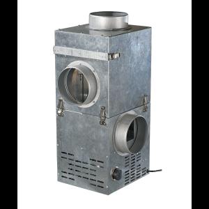 kfk chambre melange pour récupérateur de chaleur de cheminée