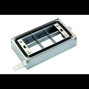 Kit installation au sol cadre téléscopique pour grille design standard